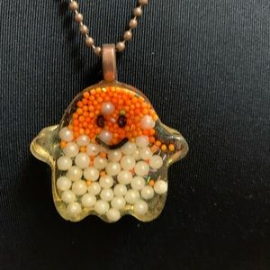 Jewelry - Ghost necklace on copper chain
